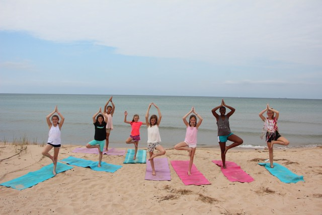 Yoga on the Beach 2016