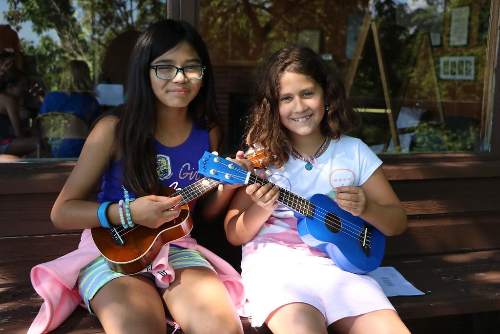 Miniwanca, Summer Camp, Girls Camp, ukulele