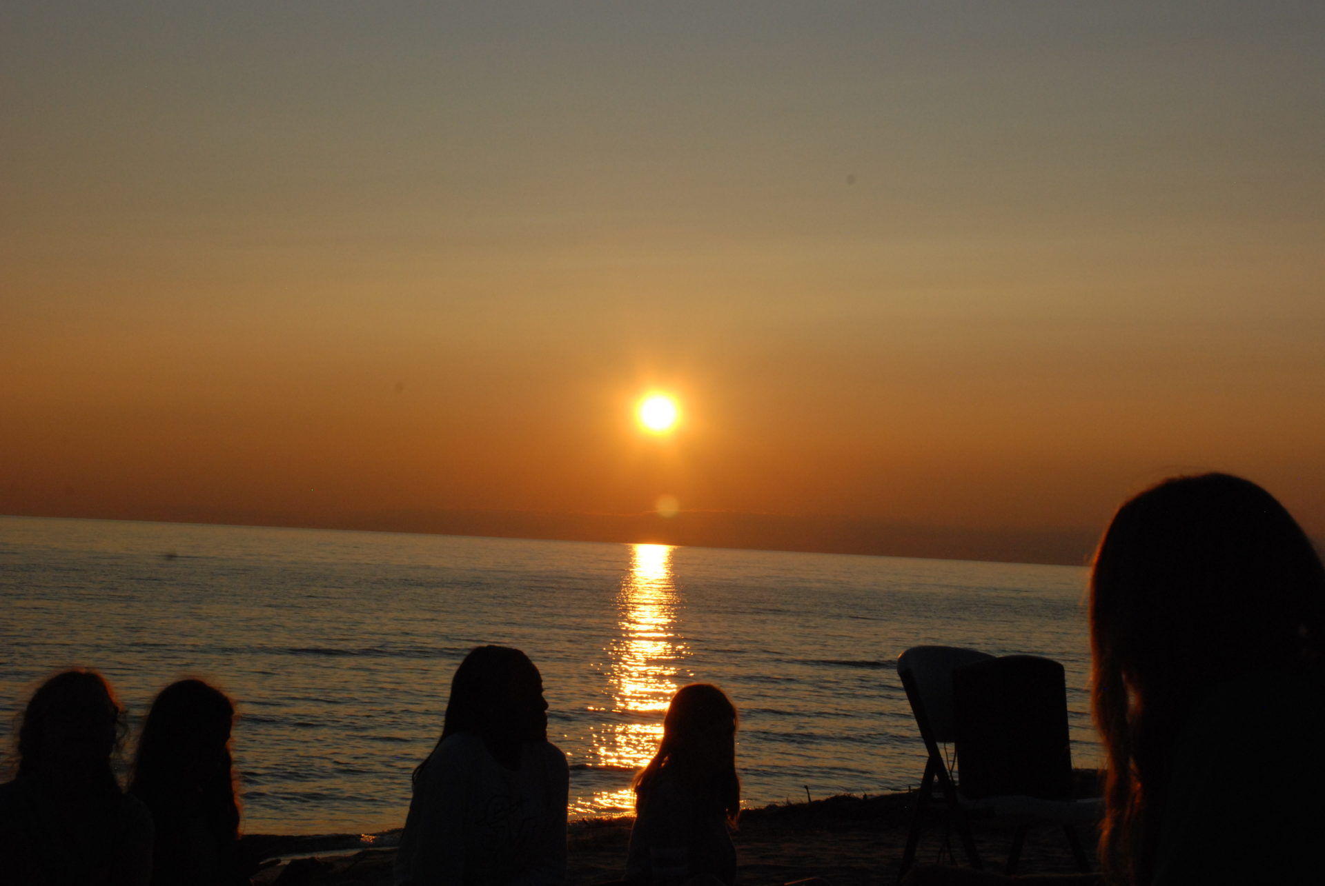Sunset, Miniwanca, Girls Camp