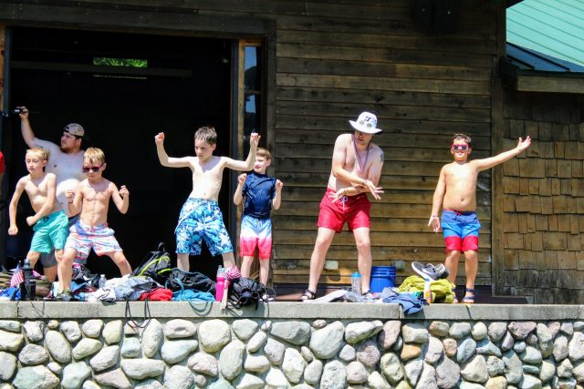 4th of July in Boys Camp