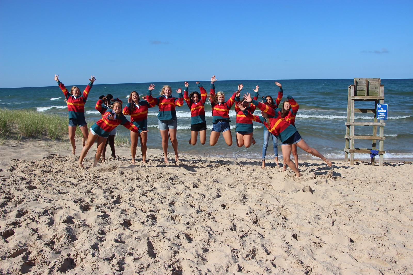 Miniwanca. Girls Camp, Voyageur