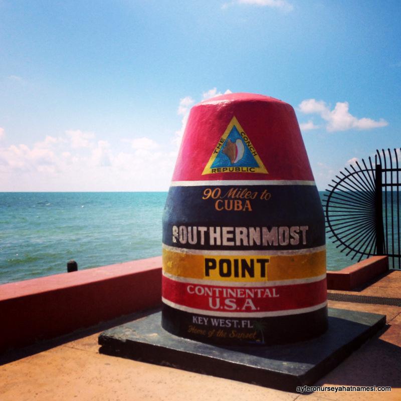 Kuzey Amerika kıtasının en güney ucu, Key West