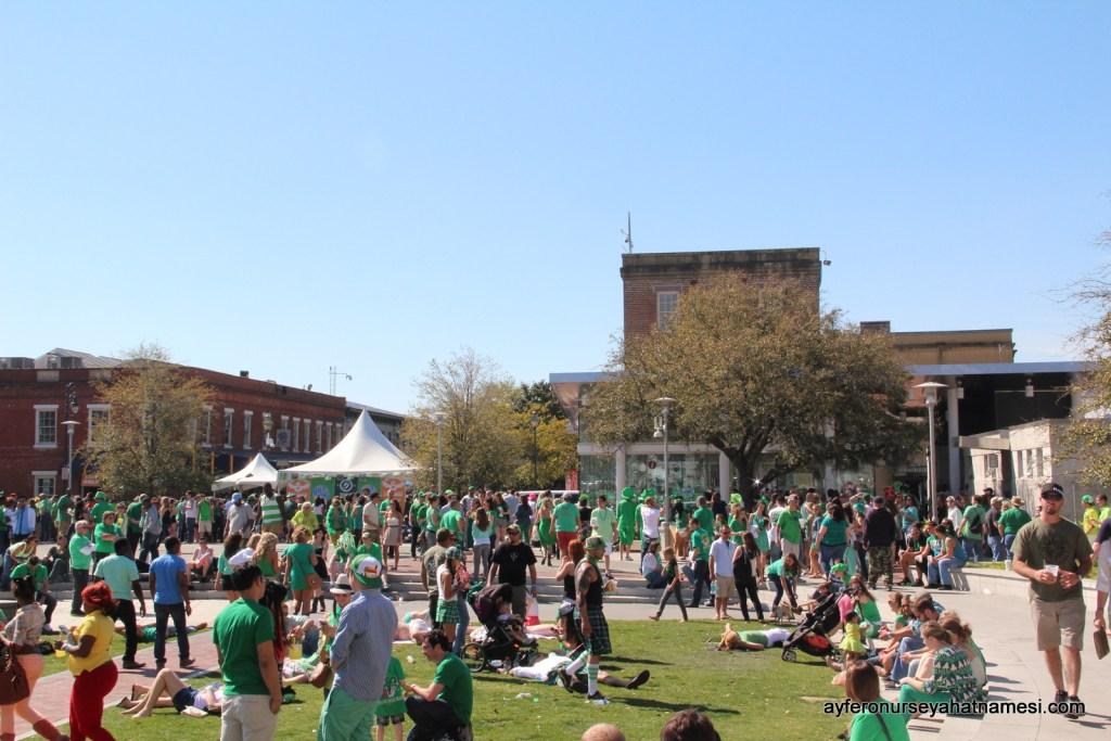 St. Patrick's Day kutlamalarından...