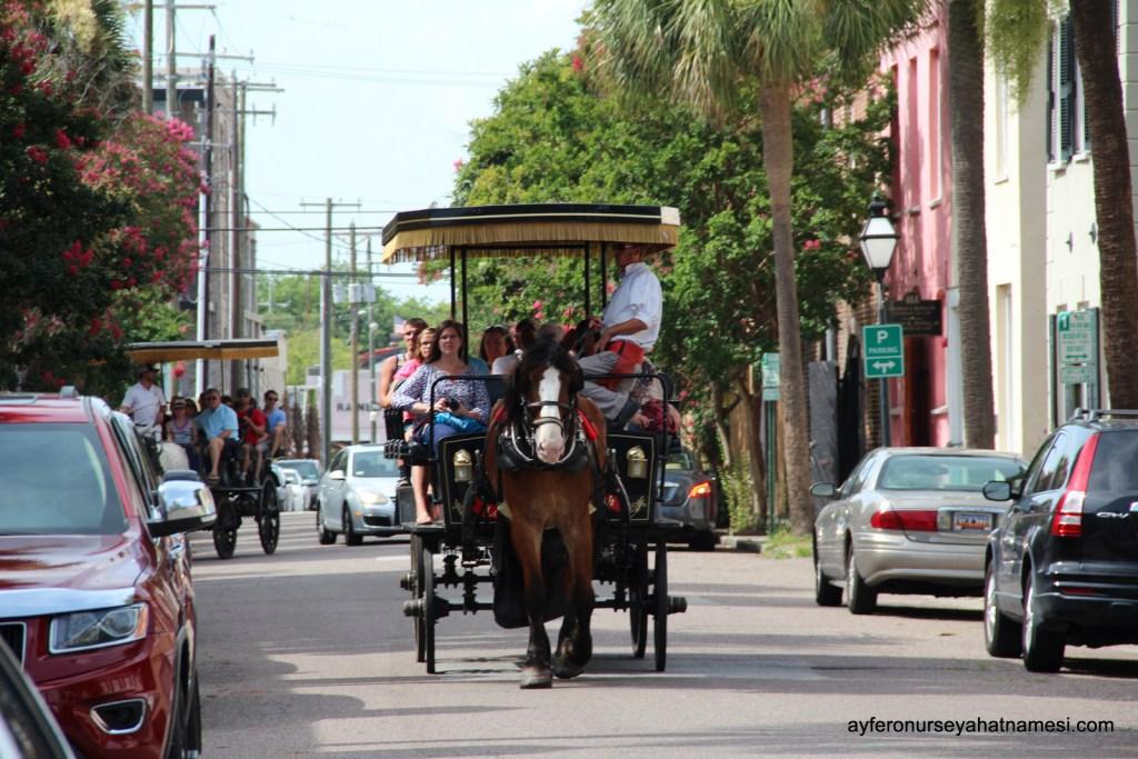 Charleston sokaklarından...