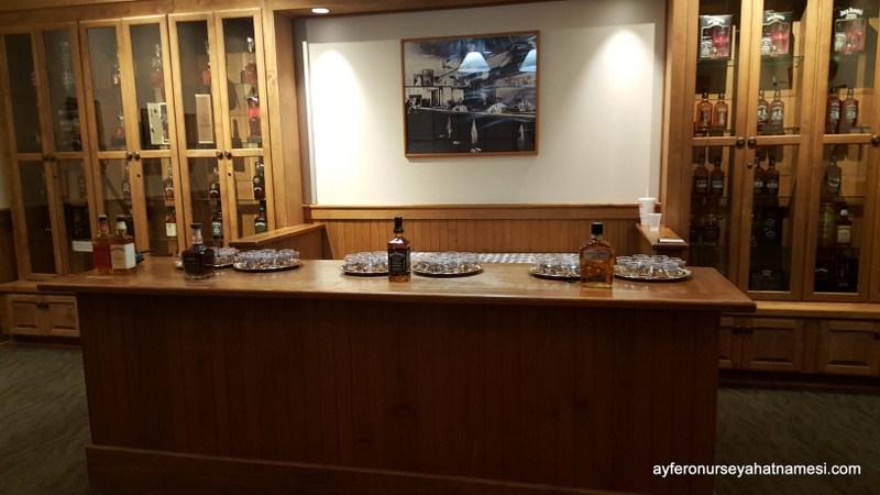 Jack Daniels Viski Tadım Salonu