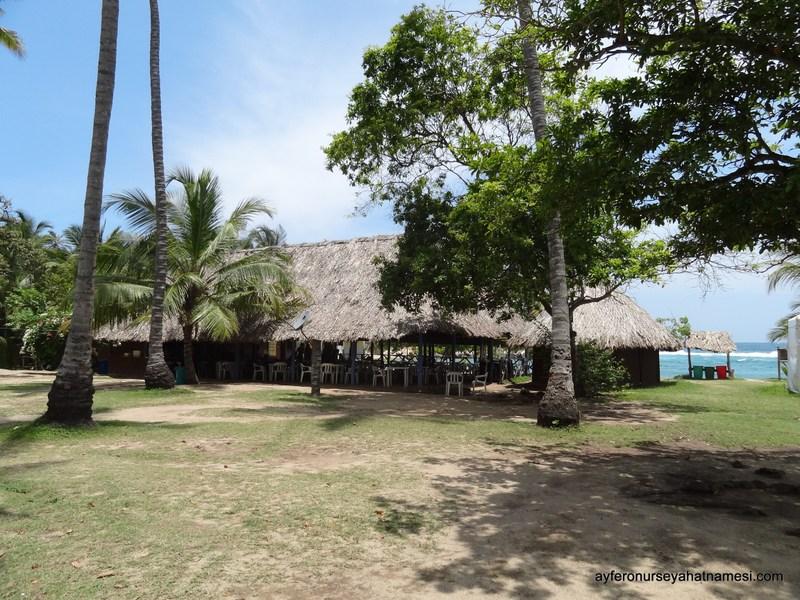 Cabo plajındaki restoran