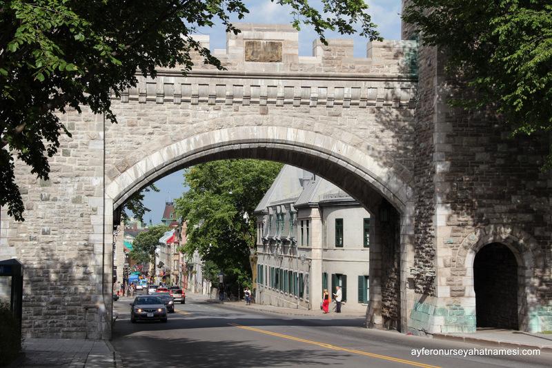 Vieux Quebec (Eski Quebec - Old Town)