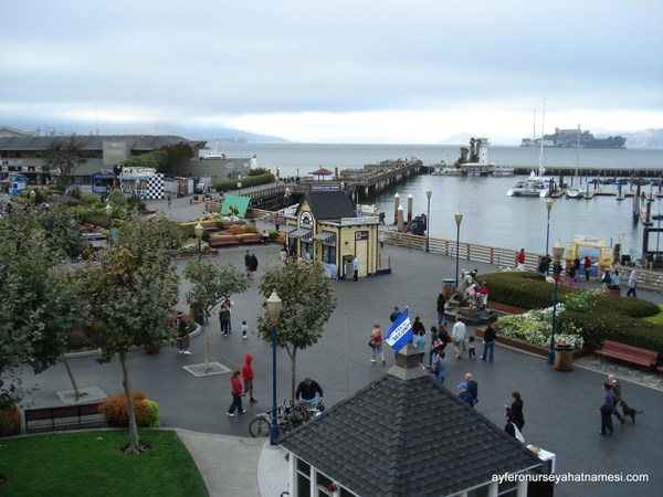 Fisherman's Wharf bölgesi - San Francisco