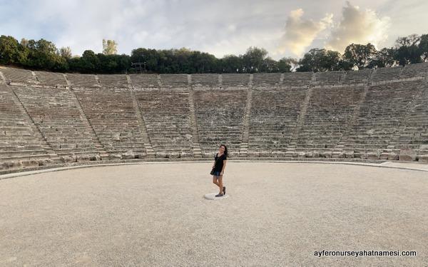 Epidavros Antik Tiyatro