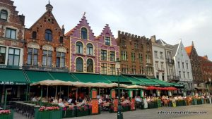 Market Meydanı - Brugge, Belçika