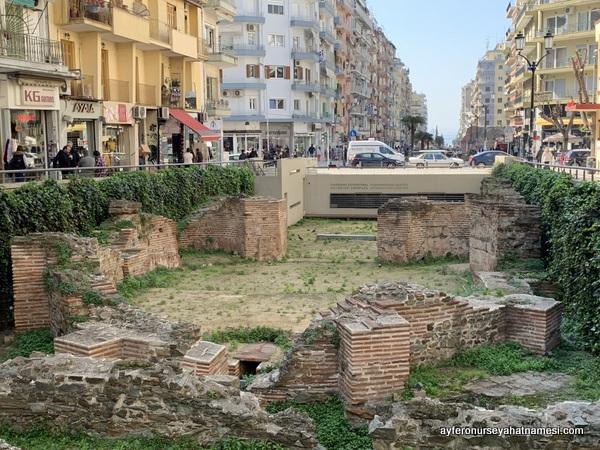 Selanik sokaklarından - Yunanistan