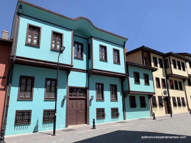 Odunpazarı evleri - Eskişehir