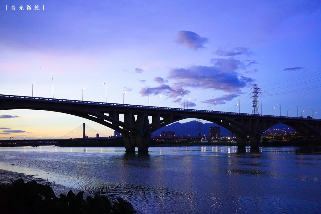 新北|板橋|萬板大橋 – 落日後的法國時光 | 食光微旅