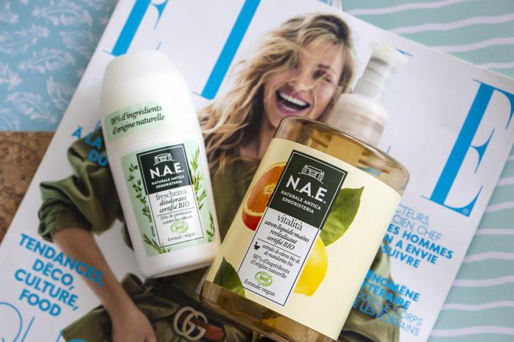 natural antica erboristeria déodorant et savon mains
