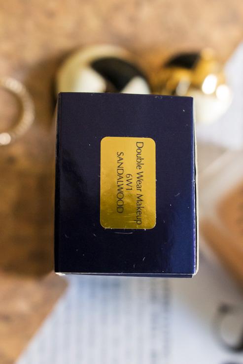 Double Wear Estée Lauder - Teinte Sandalwood 6W1
