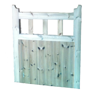 OSPG (Open Spindle Panel Gate) Treated Gates