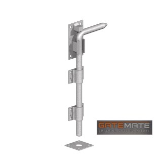 Gatemate Drop Down Bolt Galvanised