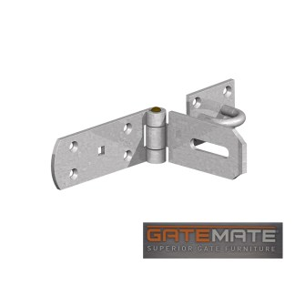 Gatemate Heavy Duty Hasp & Staple Galvanised