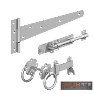 Gatemate Single Gate Kit Galvanised