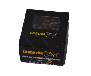 Timberfix 360 screws