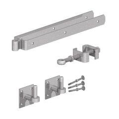 Field Gate Adjustable Fitting Set Galvanised