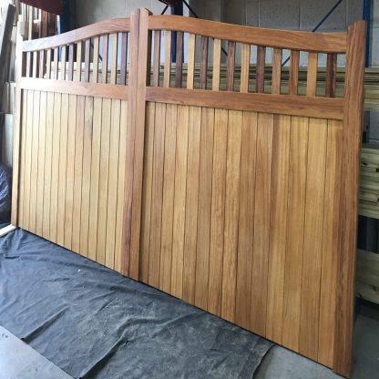 Bespoke Hardwood OSPG Gate