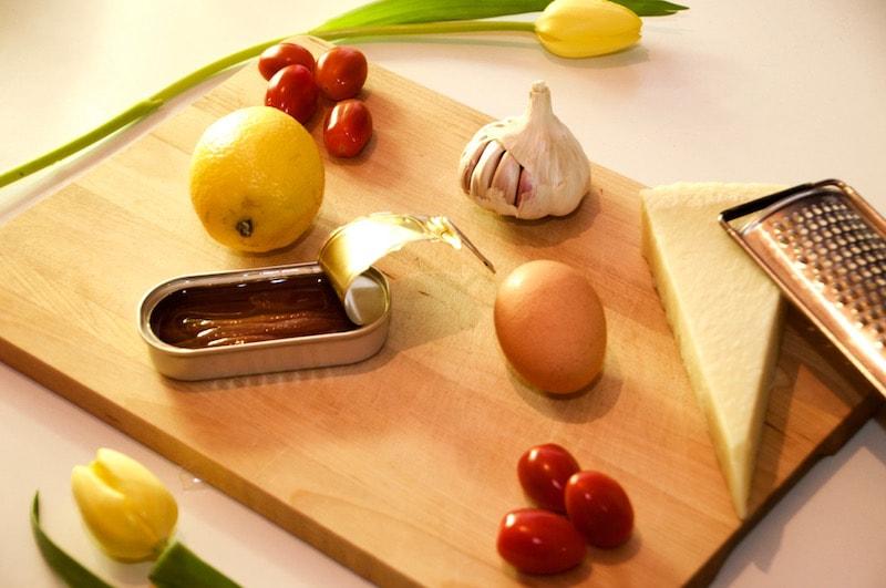 Caesar salade Ingrediënten