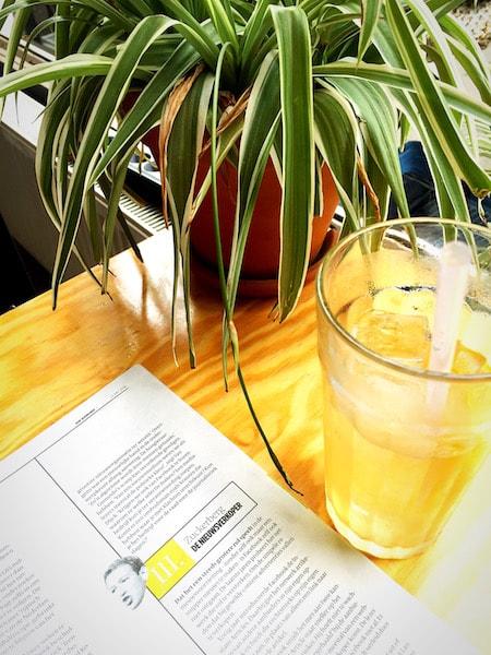 Limonade op de zaterdagochtend
