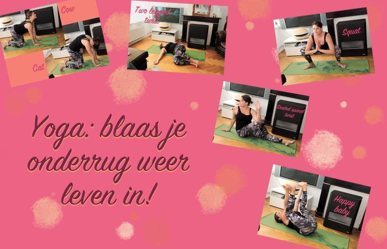 Yoga lage rugpijn 5x poses