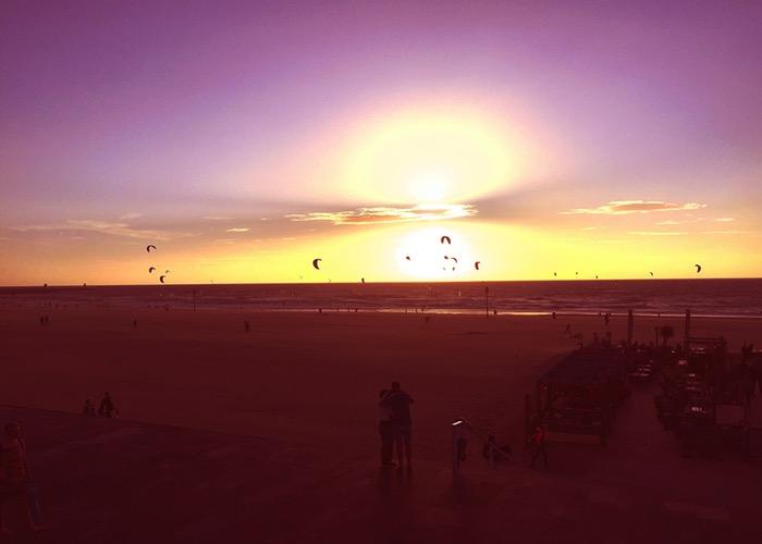 Weekoverzicht #9 Scheveningen kitesurf zonsondergang