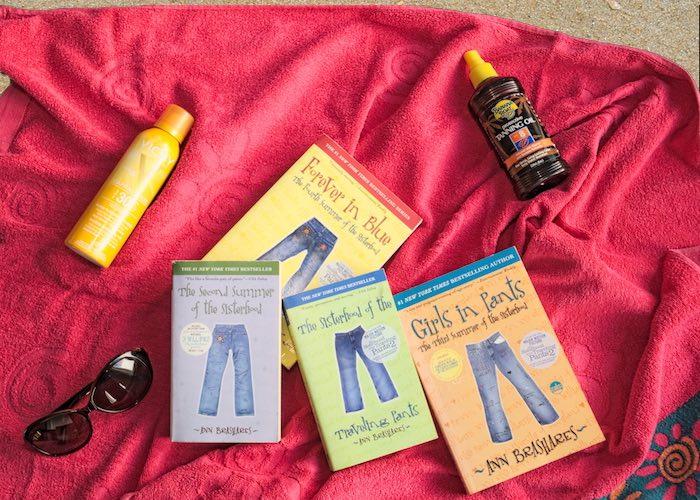 Sisterhood of the Traveling Pants zomerboeken