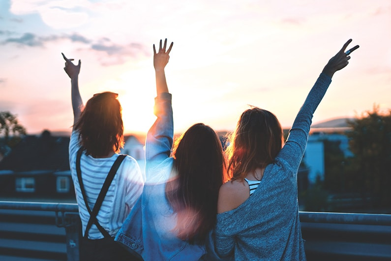 Vriendschappen goed voor je gezondheid