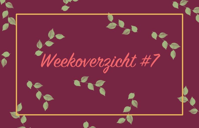 Weekoverzicht #7 dakterras BBQ en horror