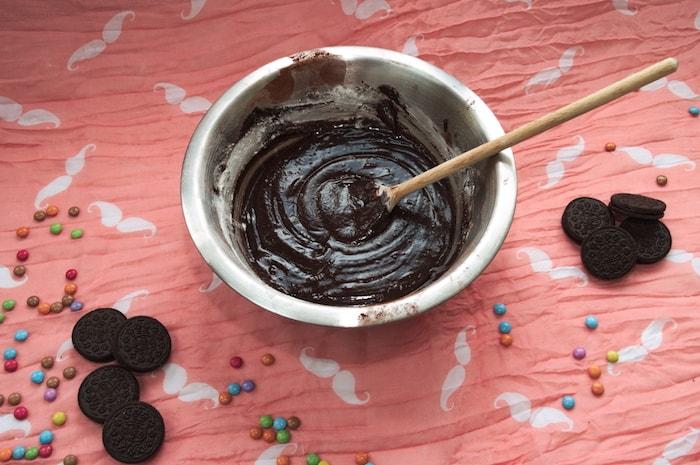 Beslag brownie-laag