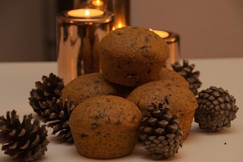 Pumpkin Spice Muffins met een chocolade twist uit Vancouver