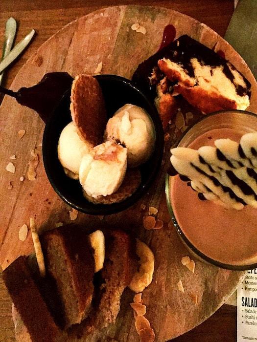 Dessert bij Boca's Park