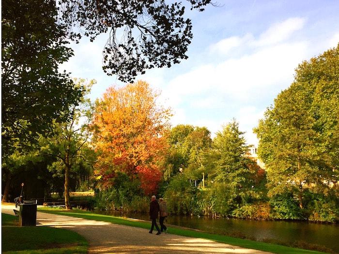 Herfst in Arnhem