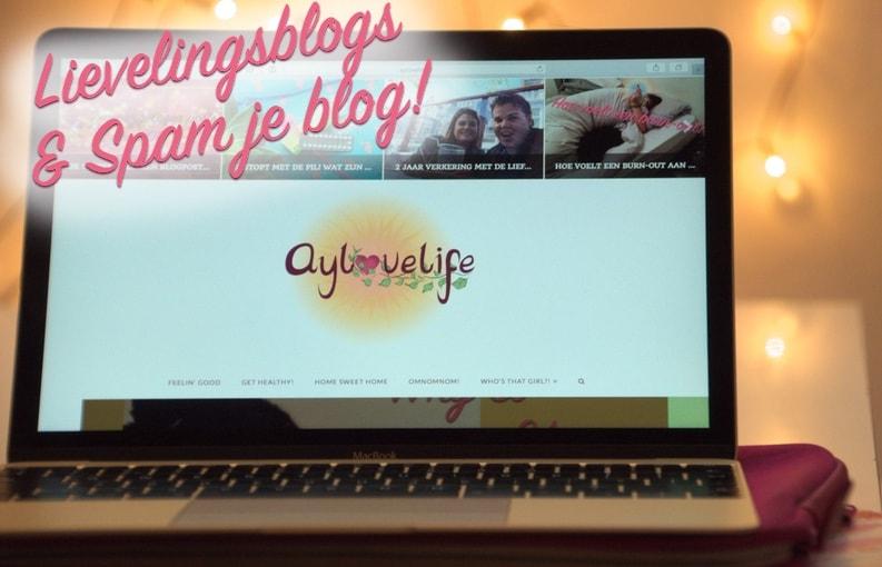 Lievelingsblogs & spam je blog