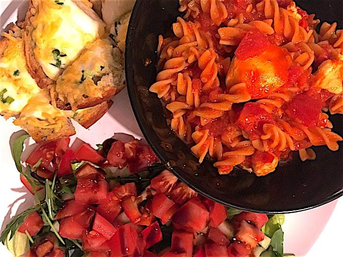 Intuïtief eten - pasta arrabiata