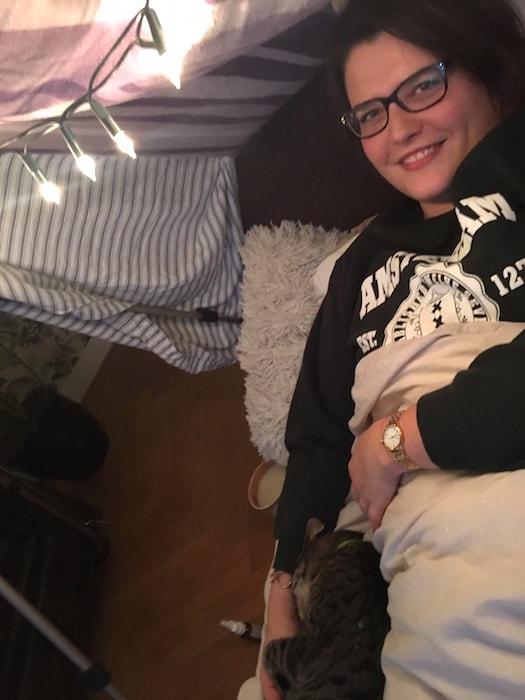 Ayla loves life februari 2017 -  Ziek zijn