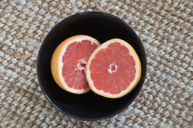 Samen afvallen; twee grapefruits