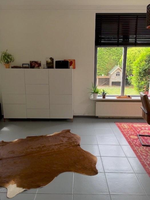 aankleding van de woonkamer vloerkleden