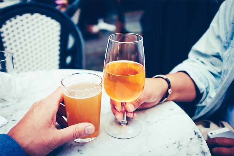 4 symptomen van een alcoholintolerantie