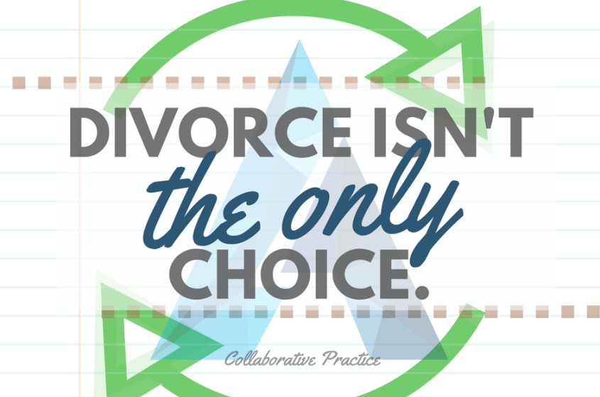 Divorce as usual isn't the only choice. Collaborative practice