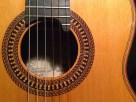 Boca/ Guitarra flamenca Brazilian Lacewood