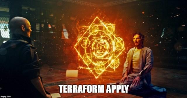 Terraform apply AKS deploy