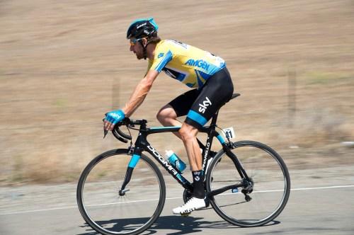 2014 Tour of California şampiyonu Sir Bradley Wiggins