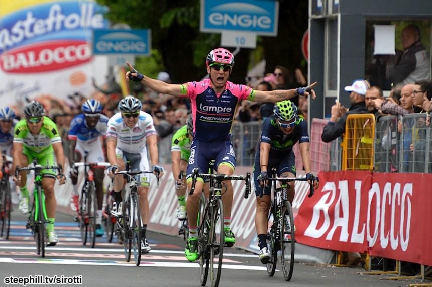 2015, Giro d'Italia, tappa 07 Grosseto - Fiuggi, Lampre - Merida 2015, Ulissi Diego, Fiuggi