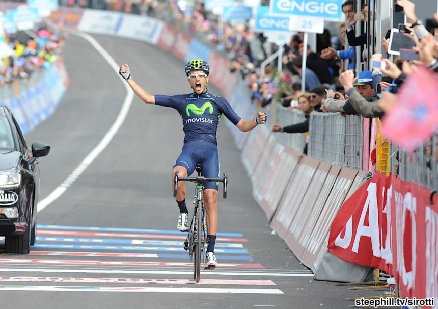 2015, Giro d'Italia, tappa 08 Fiuggi - Campitello Matese, Movistar 2015, Intxausti Benat, Campitello Matese