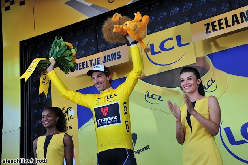 2015, Tour de France, tappa 02 Utrecht - Zelande, Trek Factory Racing 2015, Cancellara Fabian, Zelande